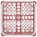 """Vollrath 52765 Signature Full-Size Red 9-Compartment 10 9/16"""" XXX-Tall Plus Glass Rack Thumbnail 5"""