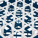 "Vollrath 52684 Signature Full-Size Royal Blue 25-Compartment 2 13/16"" Short Glass Rack Thumbnail 2"