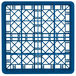 "Vollrath TR8DDD Traex® Full-Size Royal Blue 16-Compartment 7 7/8"" Glass Rack Thumbnail 4"