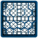 """Vollrath TR11GG Traex® Rack Max Full-Size Royal Blue 20-Compartment 6 3/8"""" Glass Rack Thumbnail 4"""