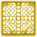 """Vollrath TR11G Traex® Rack Max Full-Size Yellow 20-Compartment 4 13/16"""" Glass Rack Thumbnail 4"""