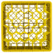"""Vollrath TR12HHHHA Traex® Rack Max Full-Size Yellow 30-Compartment 11 7/8"""" Glass Rack with Open Rack Extender On Top Thumbnail 4"""
