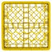 "Vollrath TR12H Traex® Rack Max Full-Size Yellow 30-Compartment 4 13/16"" Glass Rack Thumbnail 4"