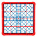Carlisle RG25-2C410 OptiClean 25 Compartment Red Color-Coded Glass Rack with 2 Extenders Thumbnail 4