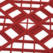 """Vollrath 52681 Signature Full-Size Red 6 7/8"""" Tall Open Rack Thumbnail 5"""