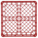 """Vollrath 52696 Signature Full-Size Red 4 7/8"""" Short Extended Open Rack Thumbnail 4"""