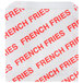 "Carnival King 4 1/2"" x 4 1/2"" Medium Printed French Fry Bag - 500/Pack Thumbnail 1"