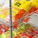 "Regency Chrome 5-Shelf Angled Stationary Merchandising Rack - 18"" x 24"" x 74"" Thumbnail 4"