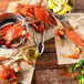 """Linton's Seafood 5 3/4"""" Live Large Maryland Blue Crabs - 12/Case Thumbnail 8"""