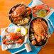 "Linton's 5 3/4"" Heavily Seasoned Steamed Large Maryland Blue Crabs - 72/Case Main Thumbnail 4"