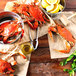 "Linton's Seafood 6 1/2"" Live Jumbo Maryland Blue Crabs - 30/Case Thumbnail 8"