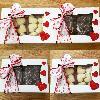"8"" x 5 3/4"" x 2 1/2"" White Auto-Popup Window Cake / Bakery Box - 200/Bundle"