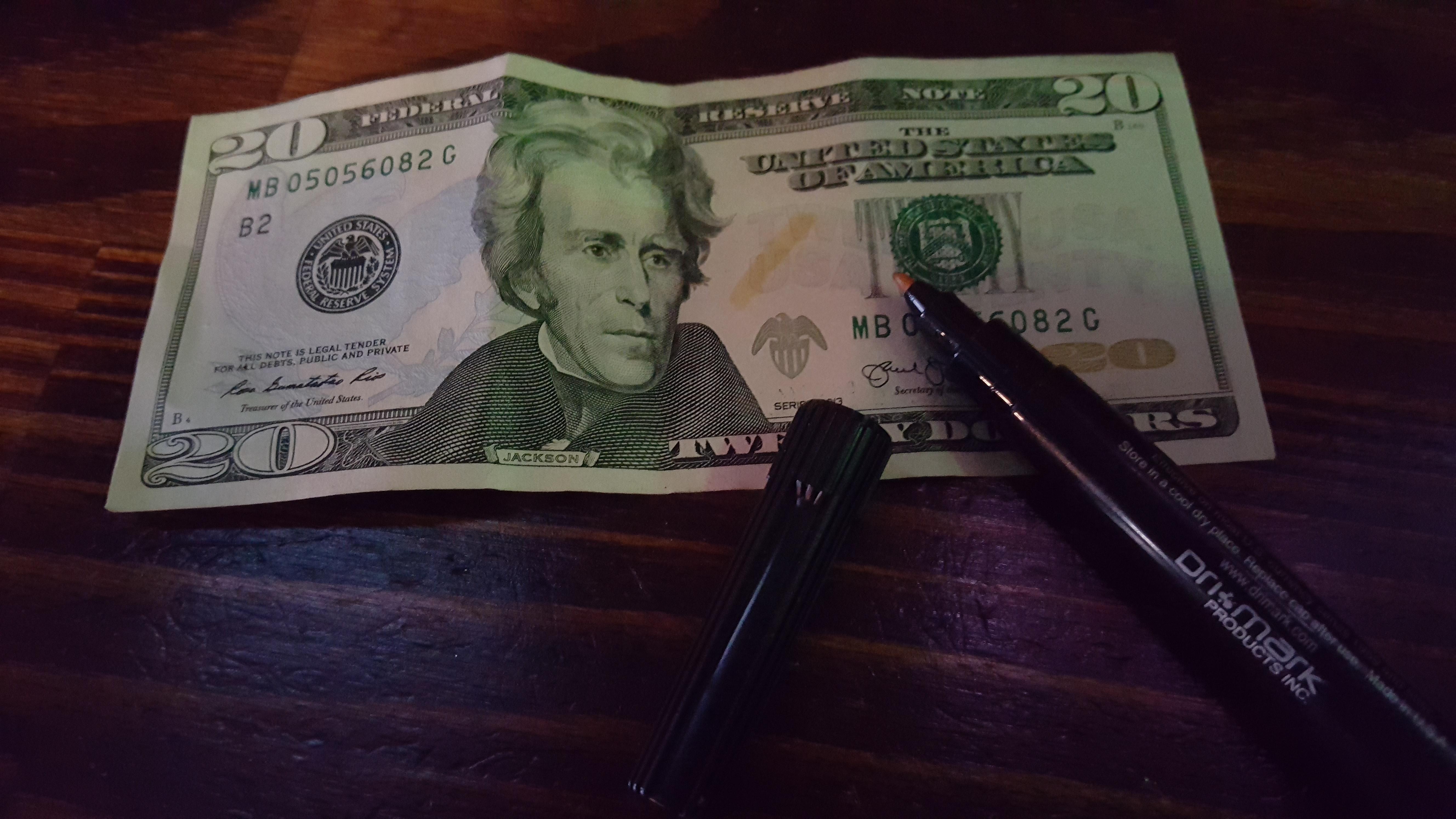 Dri Mark Counterfeit Pen (3513B1) - 3/Pack