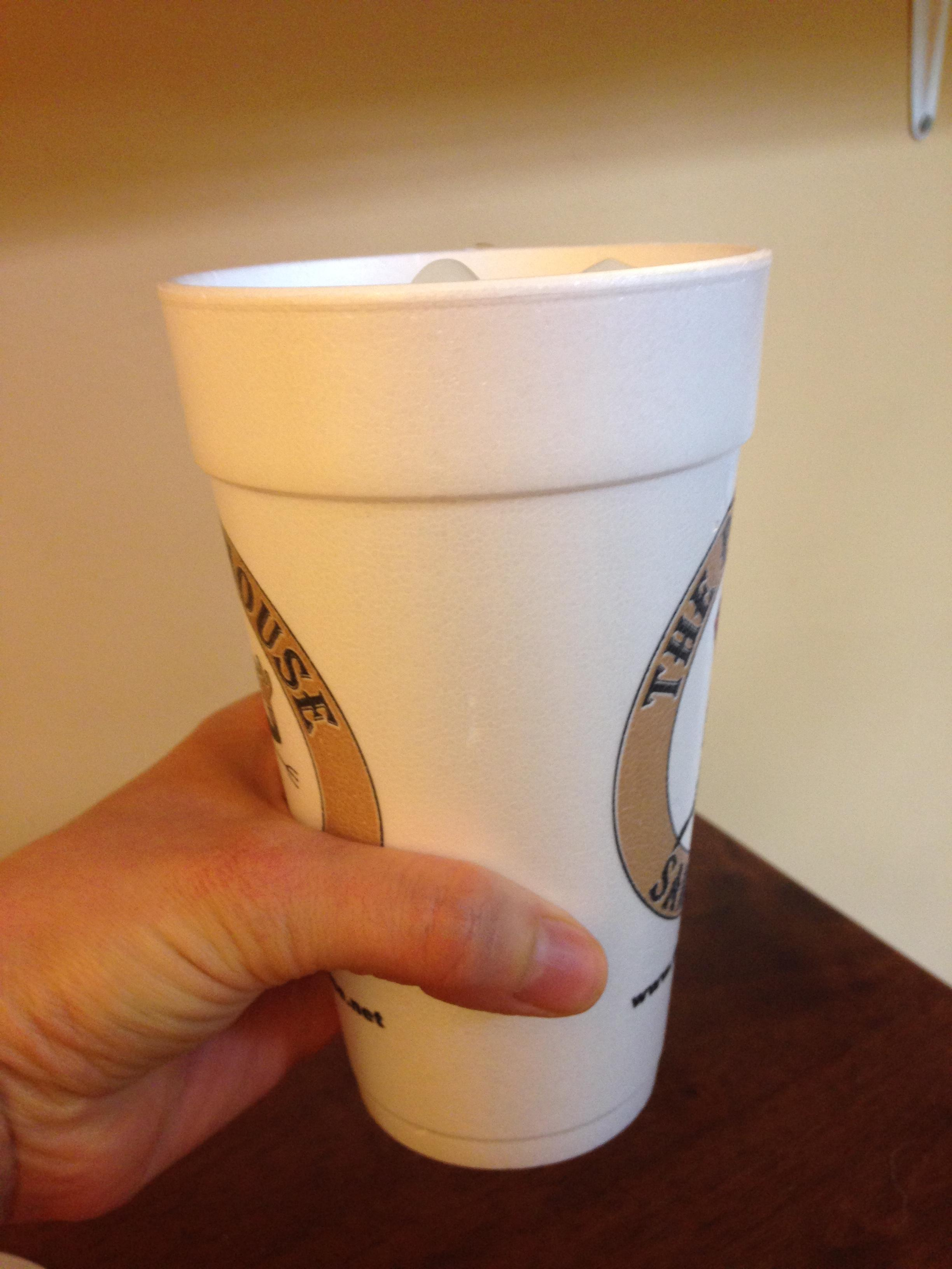 Dart 20J16 20 oz  Customizable White Foam Cup - 500/Case