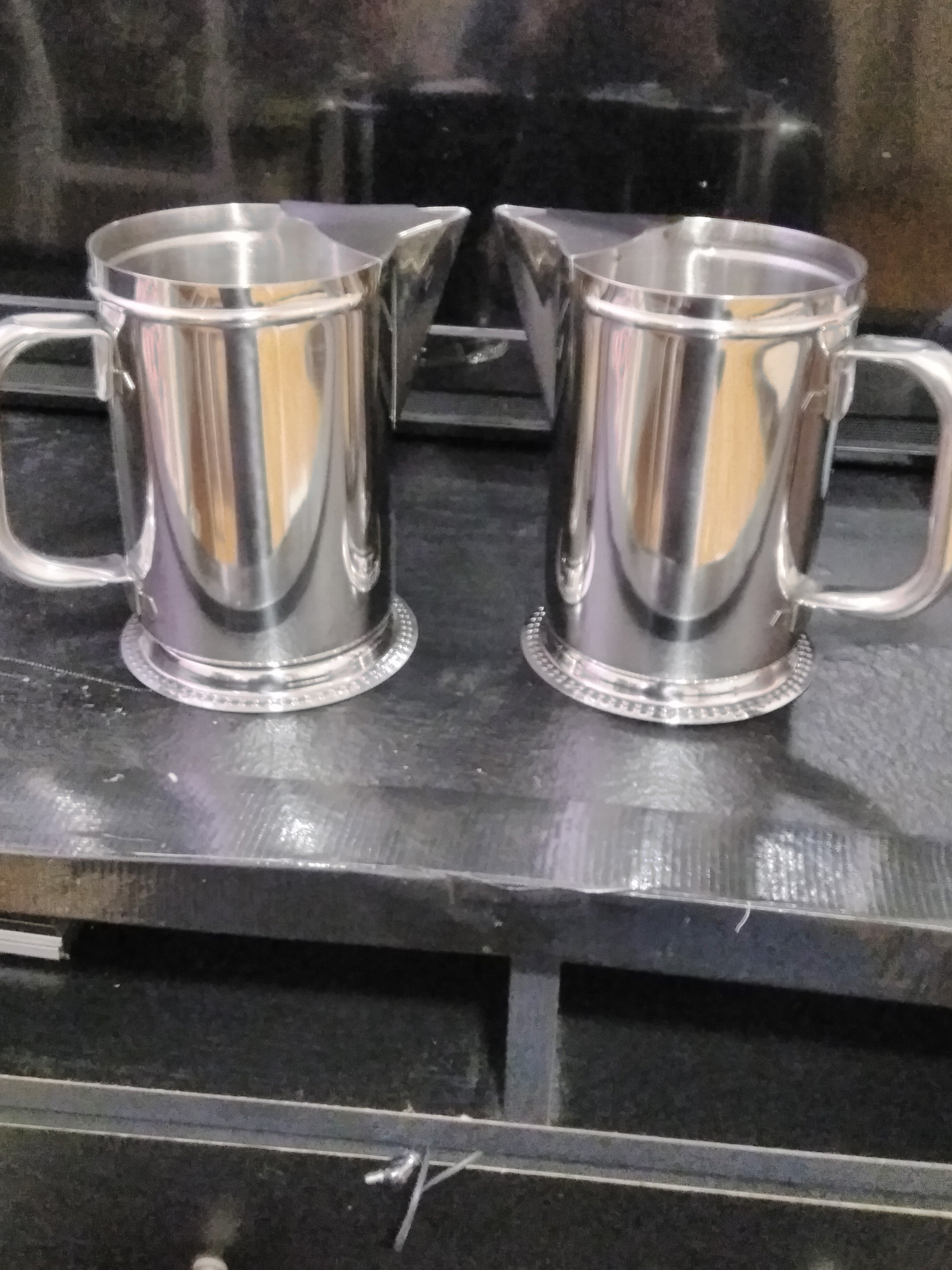504571900503 2 Qt. Stainless Steel Water Pitcher