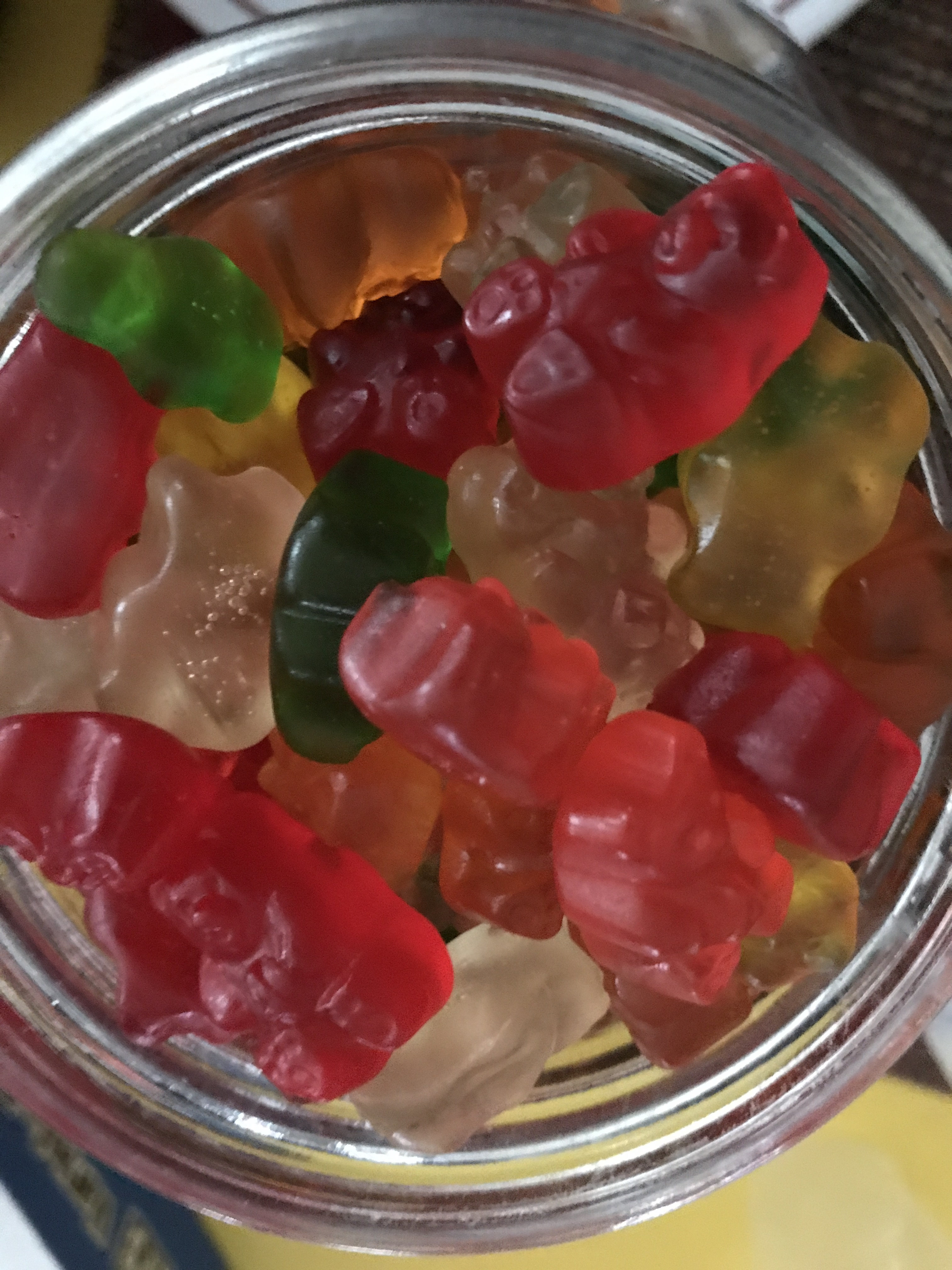 Gummi Bear Topping - 20 lb