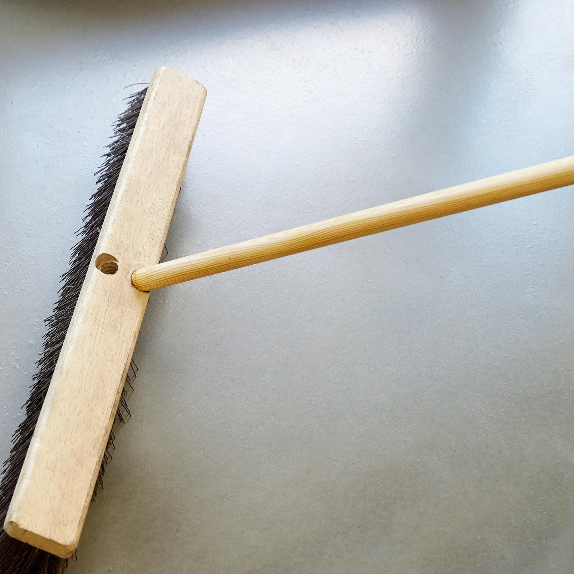 Scrubble by ACS B1060 60 Threaded Bamboo Broom Handle