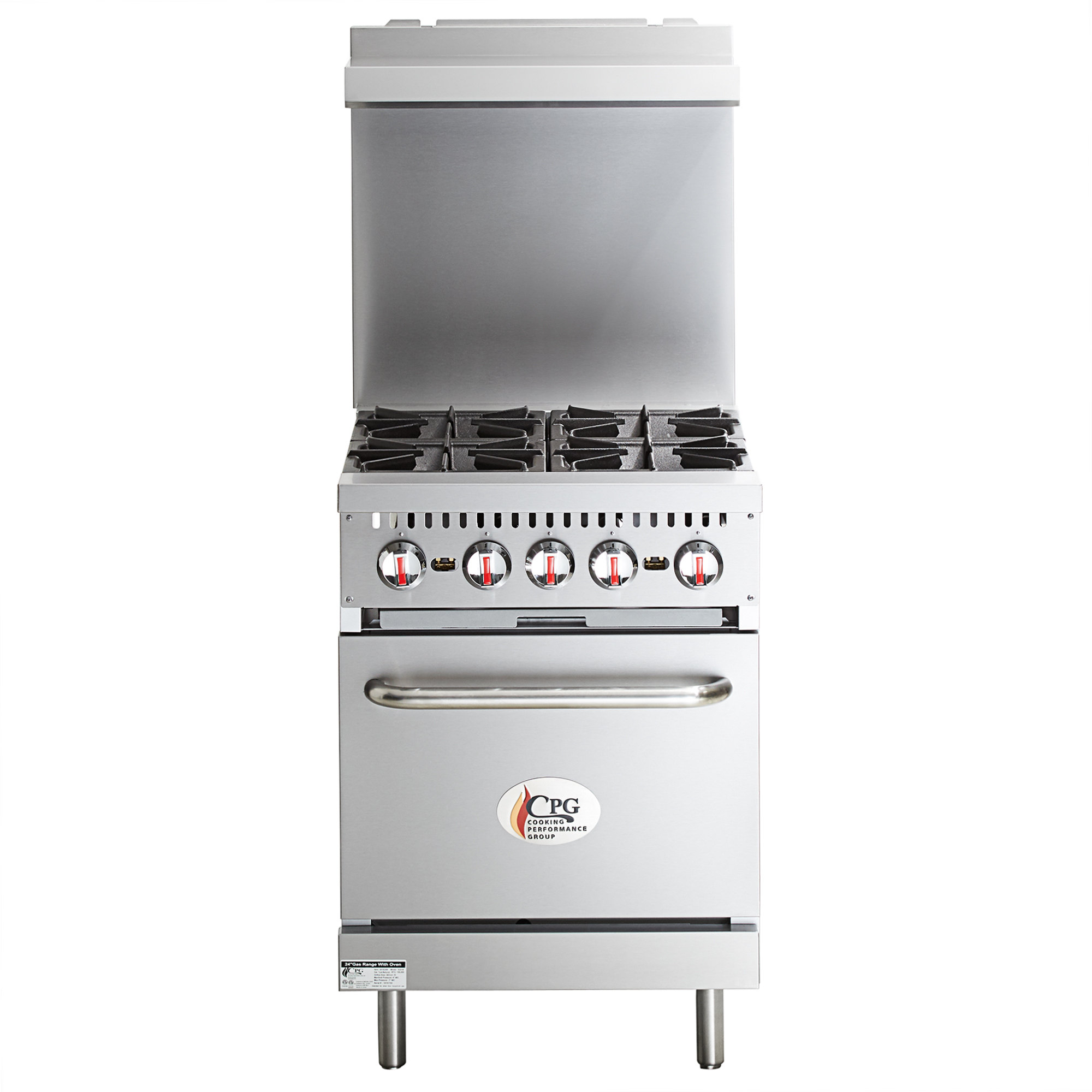Cooking Performance Group S24-N Natural Gas 4 Burner 24