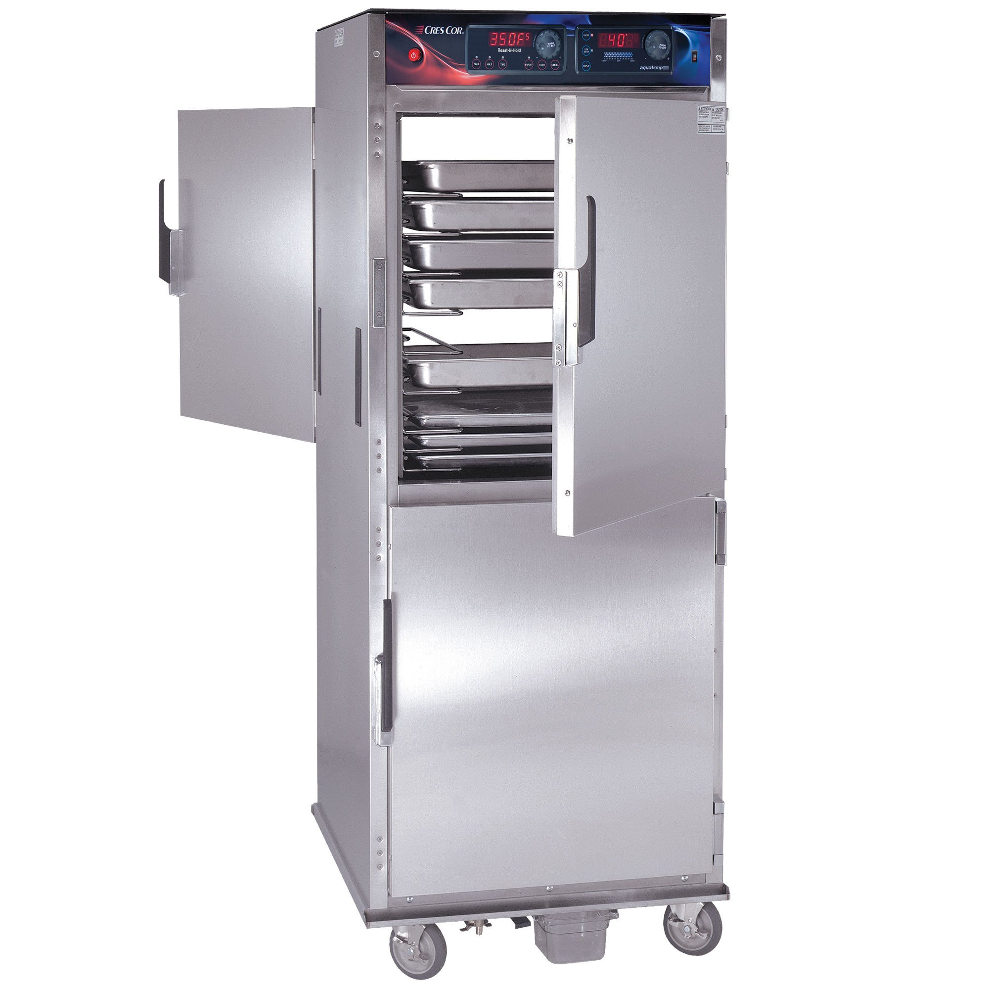 Cres Cor CO151FPWUA12DE Pass-Through Roast-N-Hold convection oven with standard controls