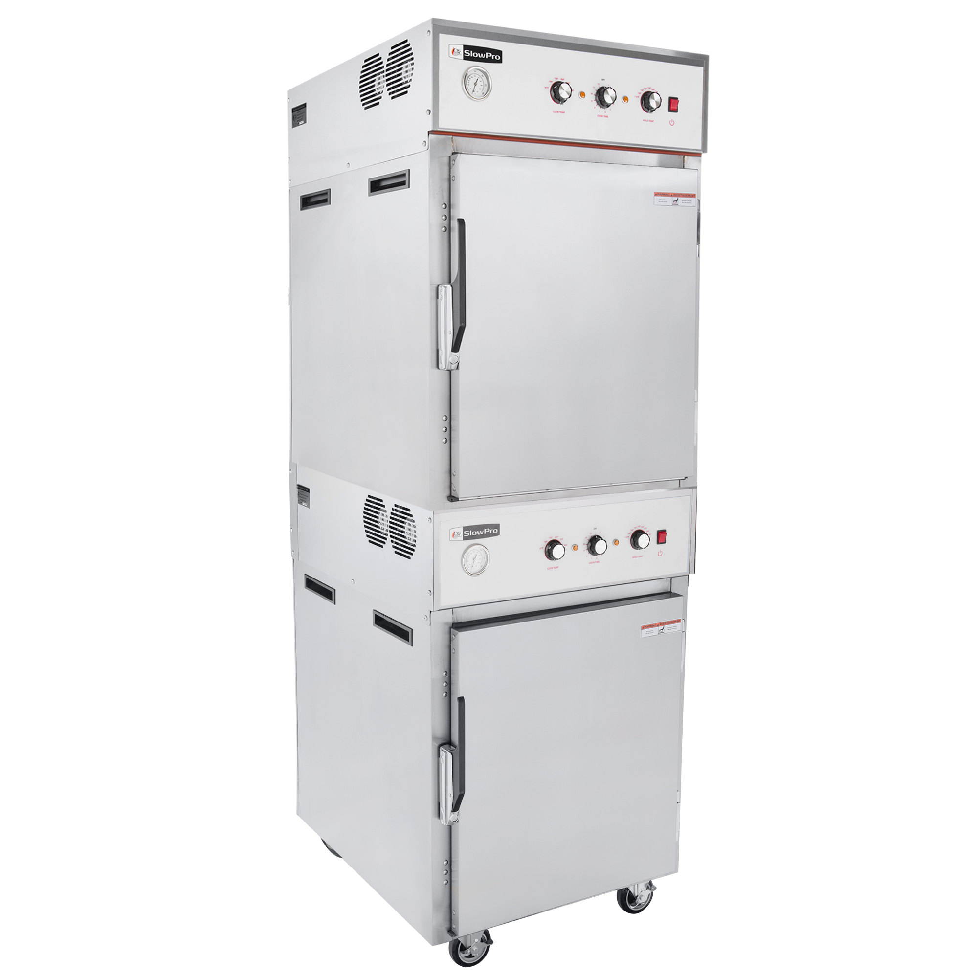 Cooking Performance Group CHSP2 SlowPro stacked cook and hold oven