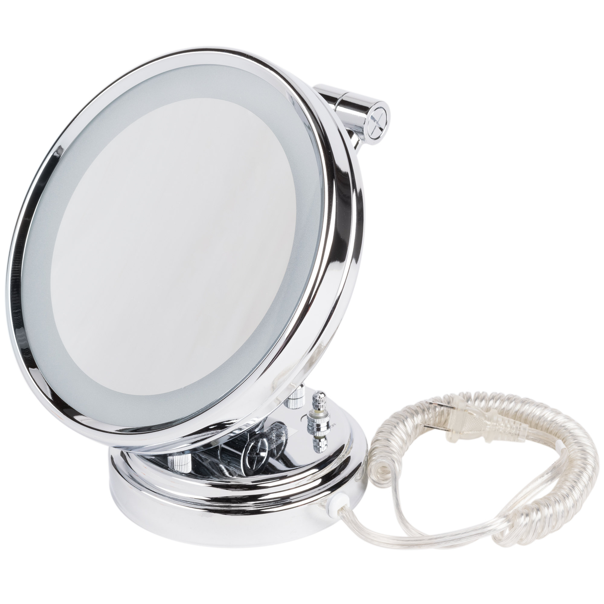 """Conair BE8WMBW 8"""" Diameter Lighted Wall-Mount Mirror Main Image 1"""