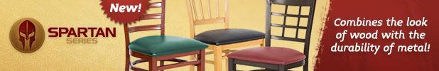 New Spartan Series chairs