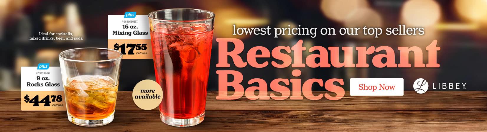 Libbey Restaurant Basics