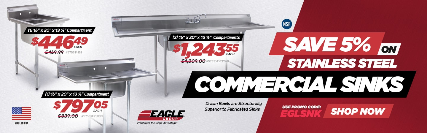 Eagle Group Commercial Sinks