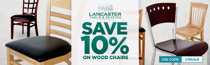 Lancaster Table & Seating Wooden Chairs