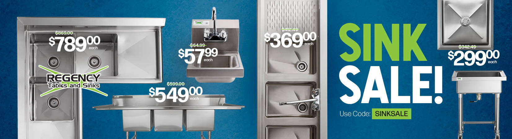 Commercial Sink Sale!