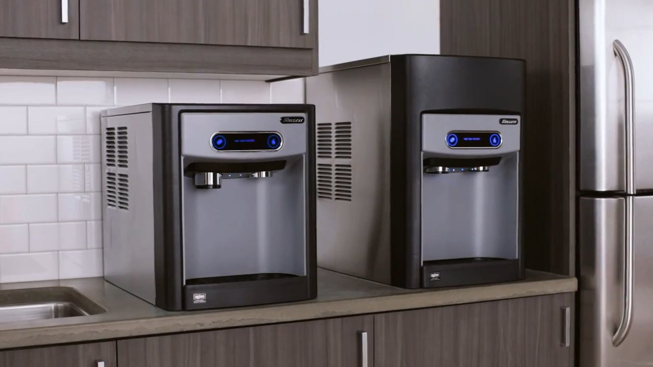 ... NF-ST-00 15 Series Countertop Ice and Water Dispenser - 15 lb. Storage