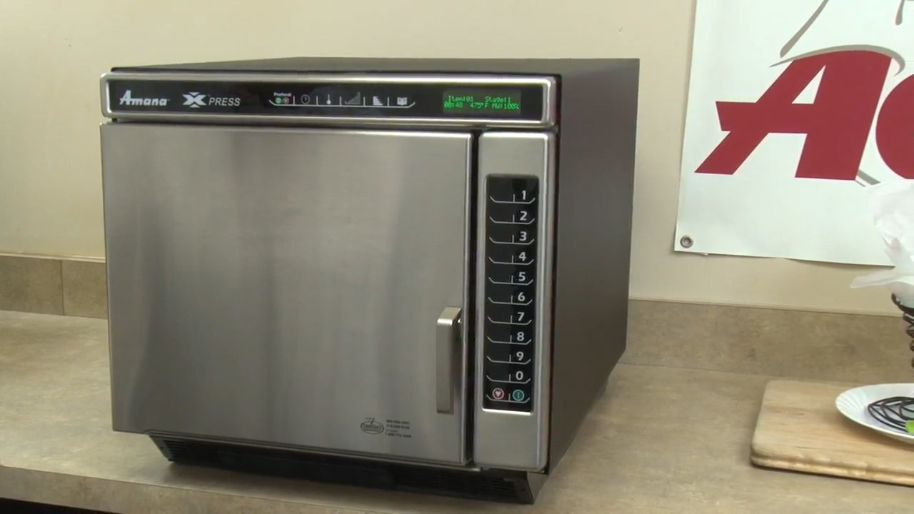 Amana Xpress Ace14 Jetwave High Sd Oven Overview