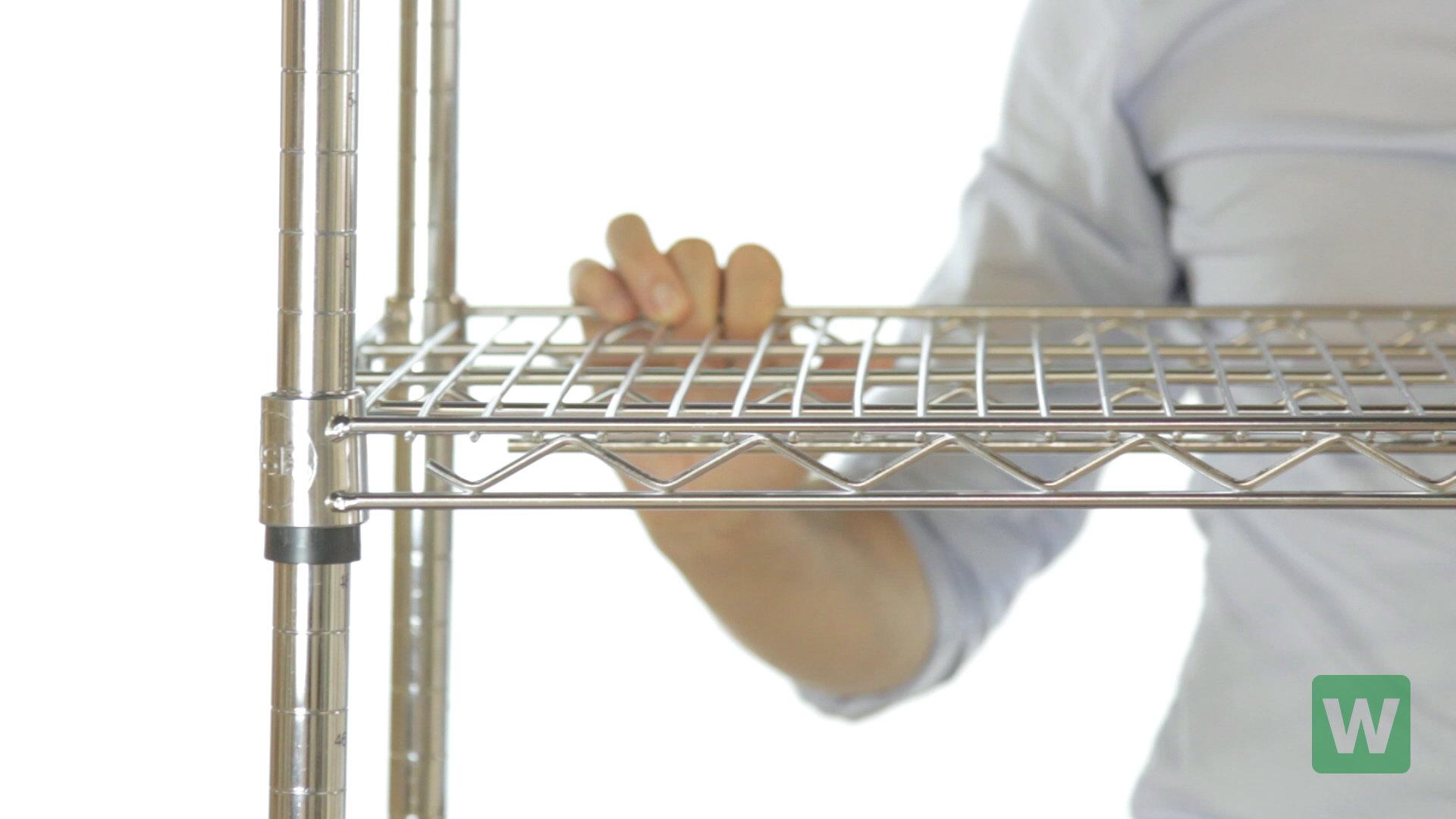How to Assemble Regency Wire Shelving - WebstaurantStore TV Video