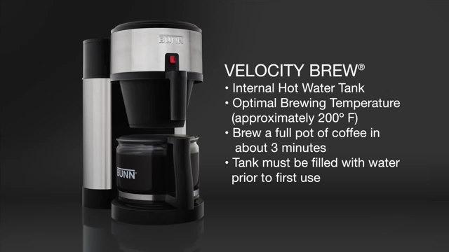 Bunn Velocity Brew Video Webstaurantstore
