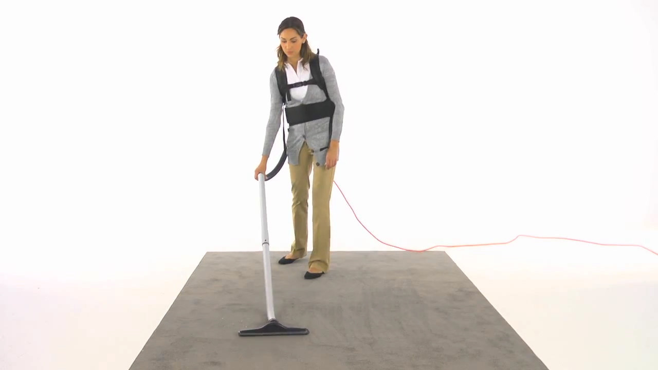 How To The Replace Power Cord On A Hoover Commercial Back Pack Vacuum Wiring Cleaner Dust Bag And Filters