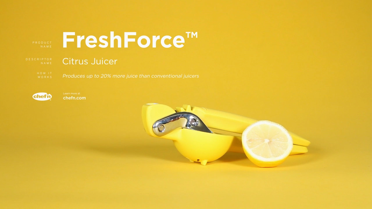 Chef N Freshforce Citrus Juicer Video Webstaurantstore