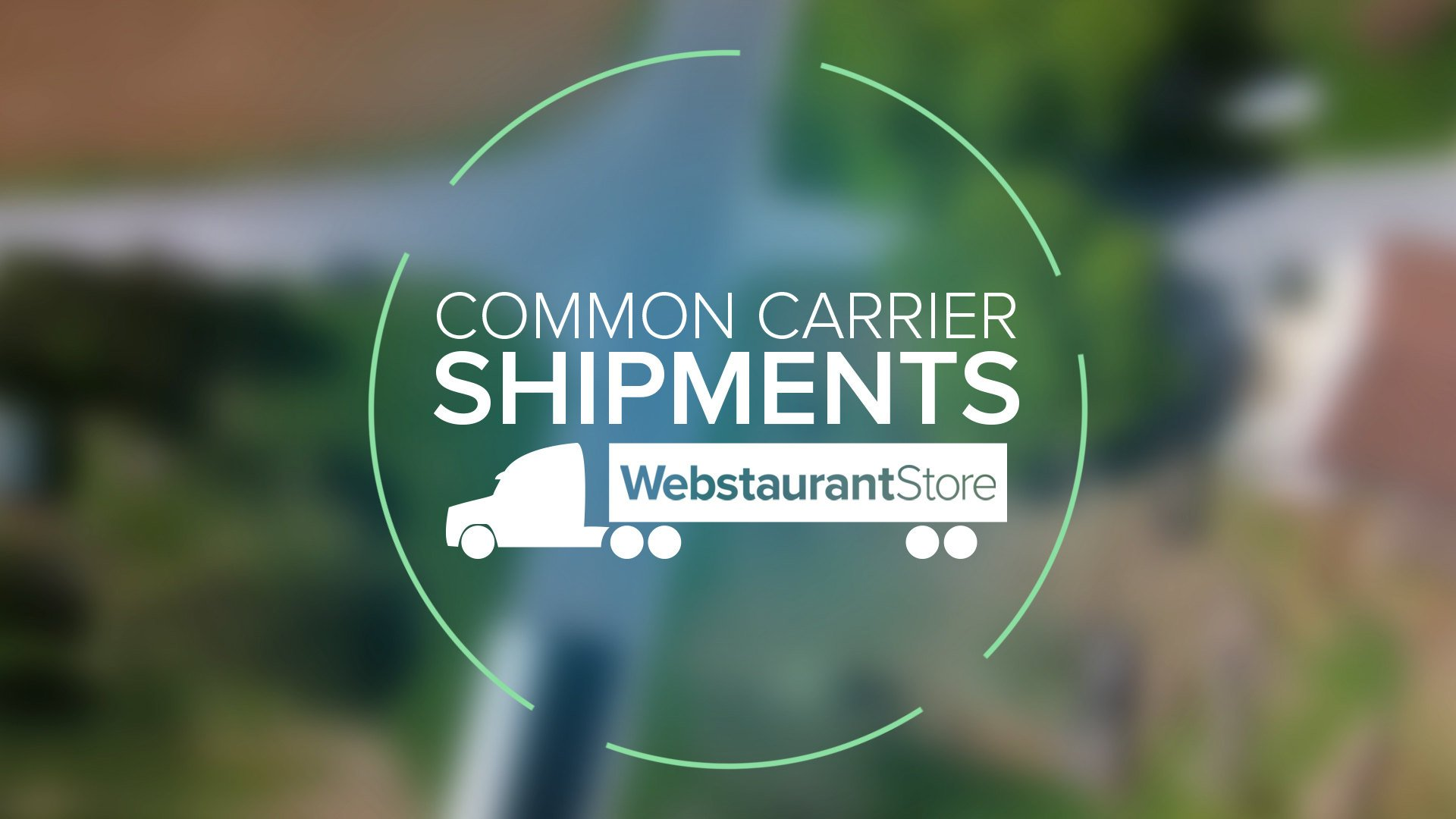 Common Carrier Shipments