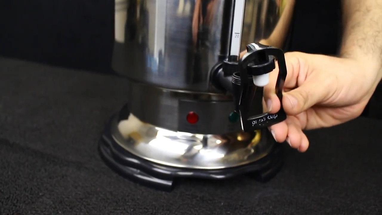 Hamilton Beach Coffee Urns: Trip Handle Maintenance Video