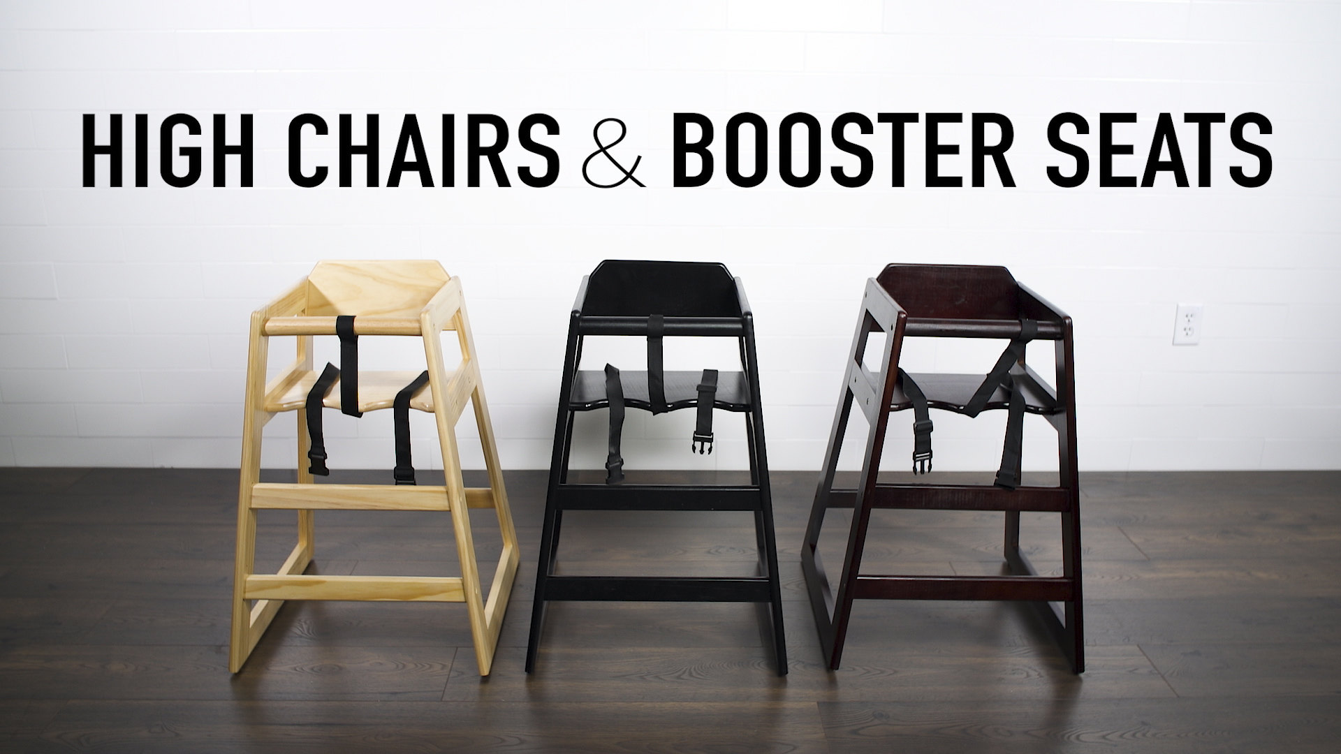 Lancaster Table Seating High Chairs Booster Seats Video Webstaurant