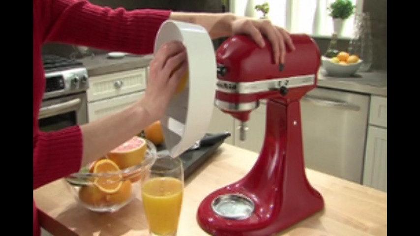 Kitchenaid Stand Mixer Juicer Attachment Video Webstaurantstore