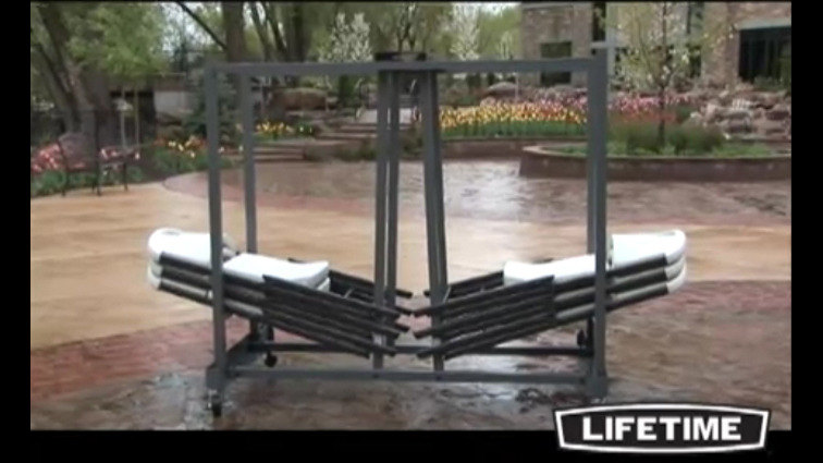 features of the lifetime chair cart
