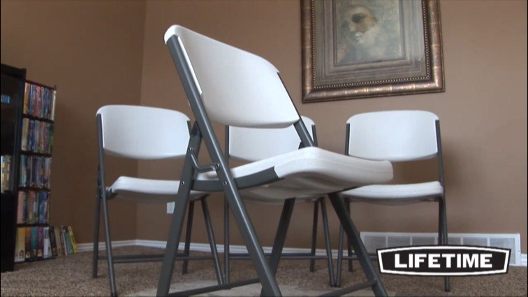 chair and youtube tables watch white package folding lifetime chairs