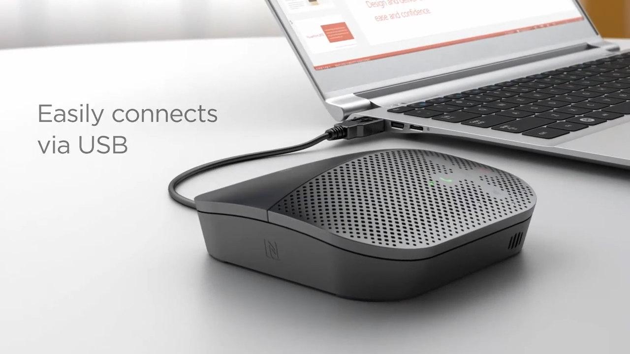 049ff7a37ee Logitech Mobile Speakerphone Video   WebstaurantStore