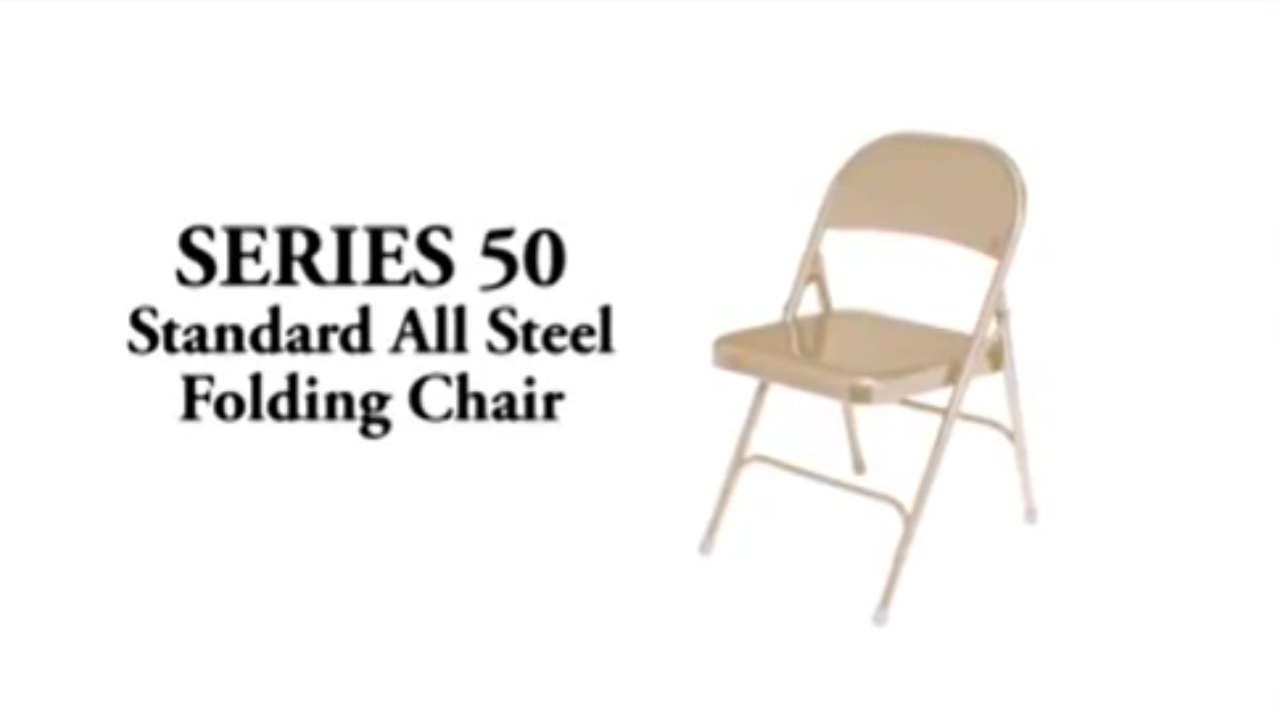 National Public Seating 50 Series Folding Chairs