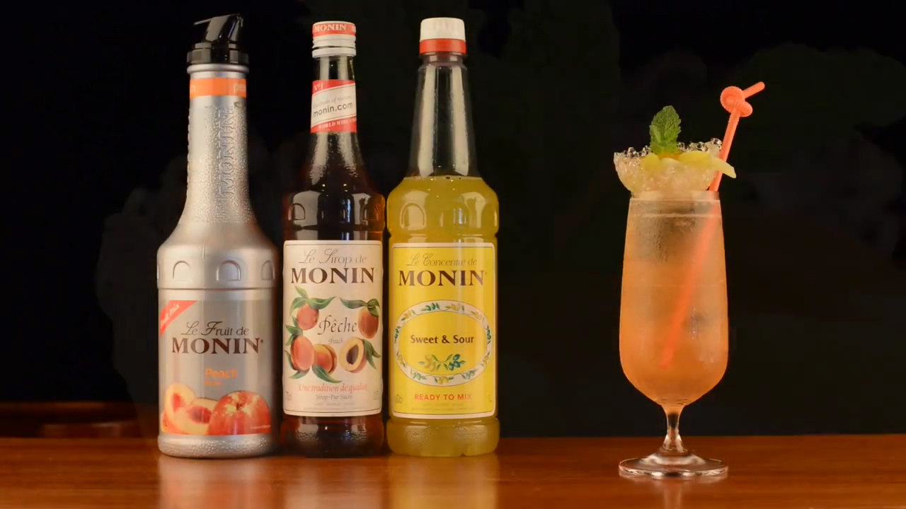 Peach Time By Monin Video Webstaurantstore Время персика, я люблю тебя. peach time by monin video
