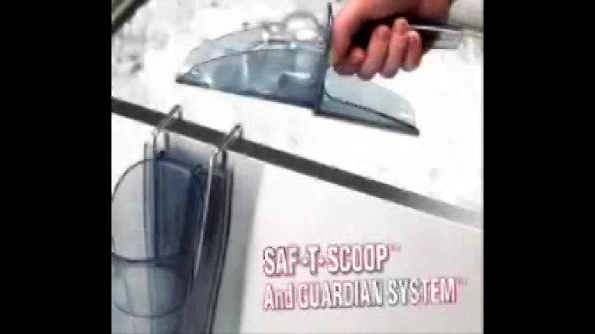 machine scoop sanitation