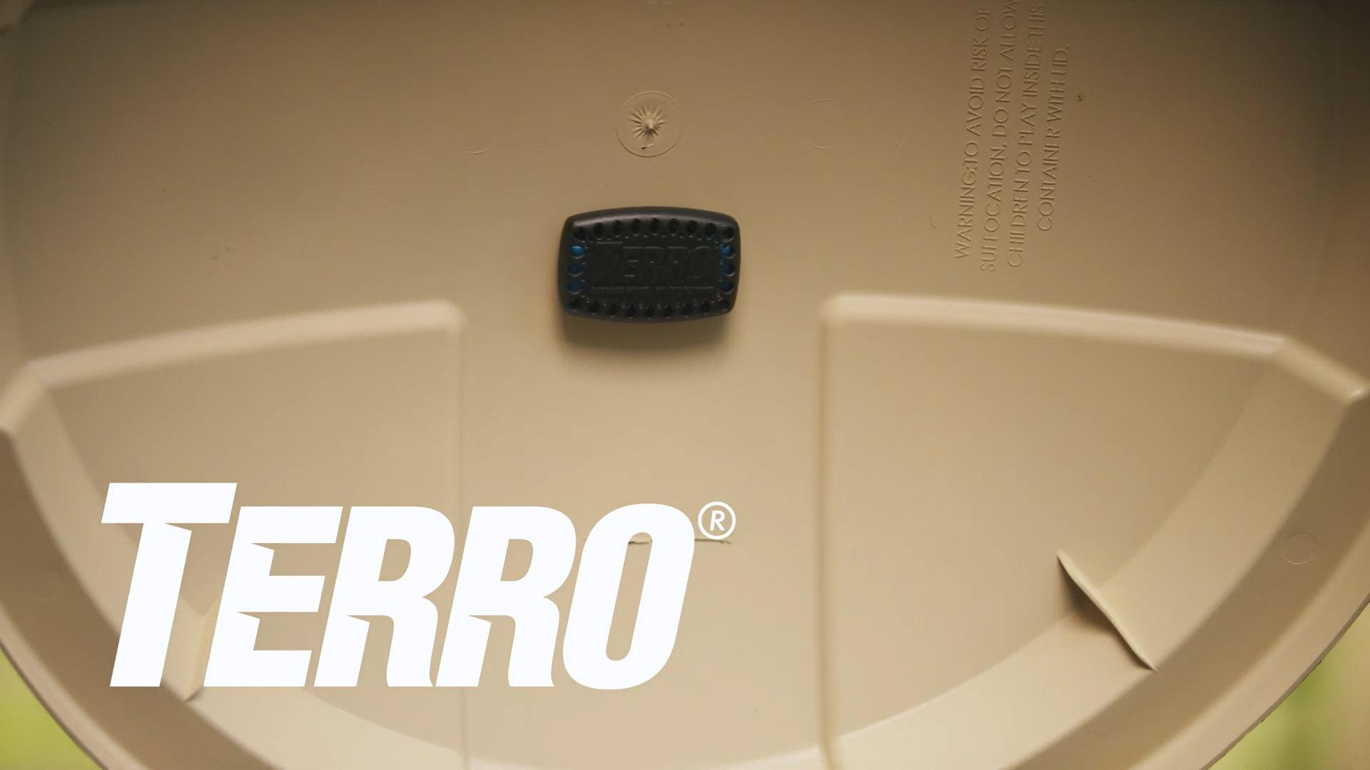 Terro Garbage Guard Trash Can Insect Killer Video Webstaurantstore
