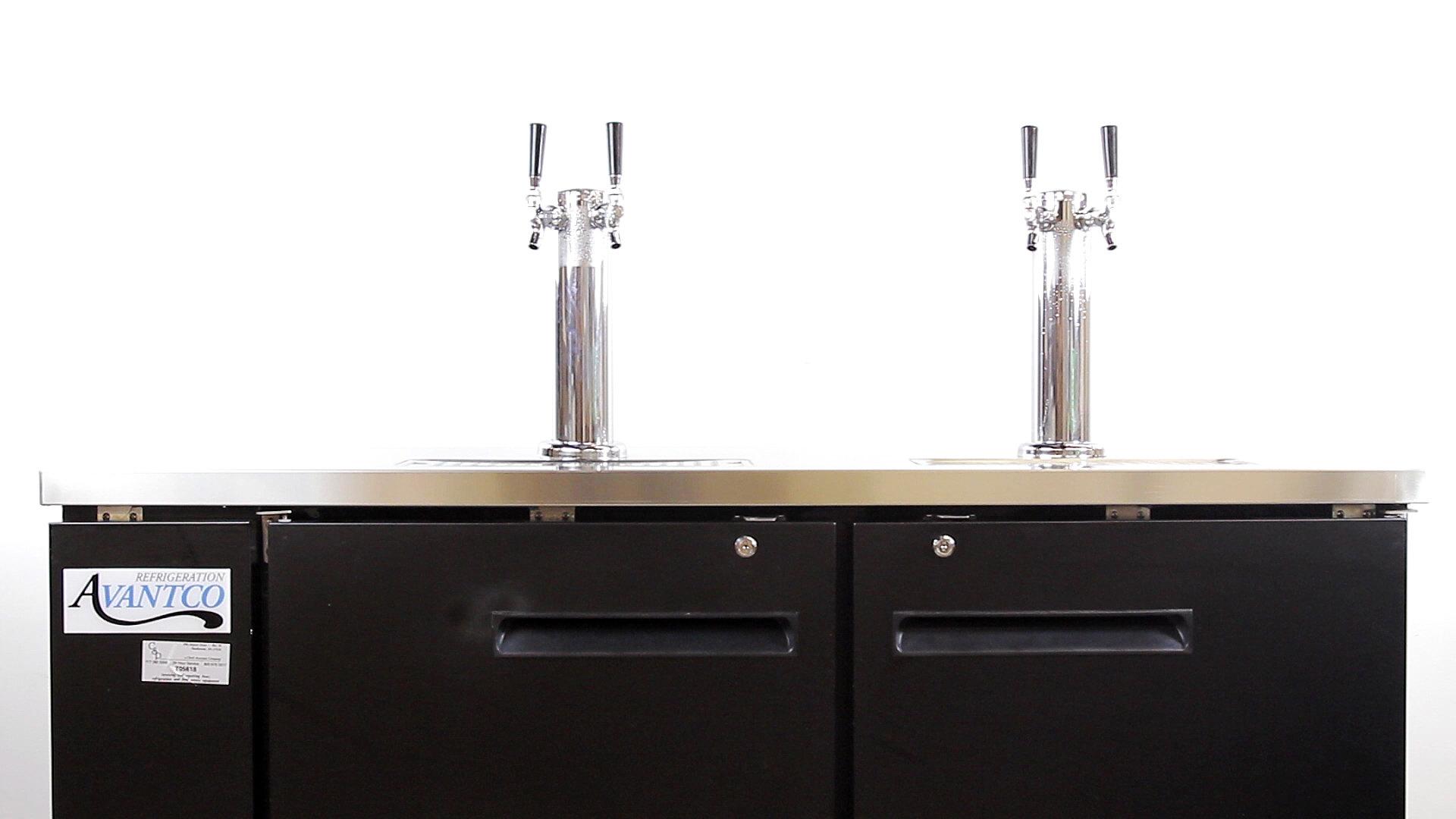 Avantco UDD-24-60 Beer Dispenser - WebstaurantStore TV Video