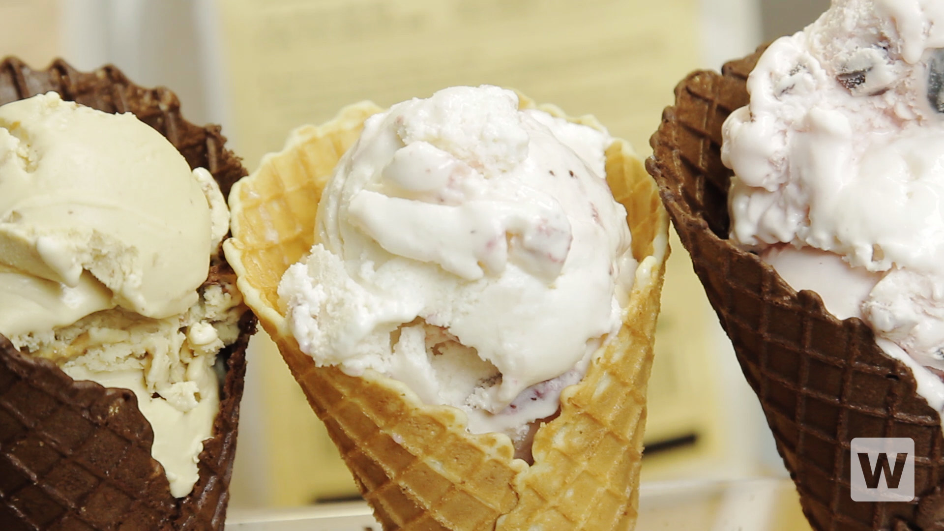 how to make a waffle cone
