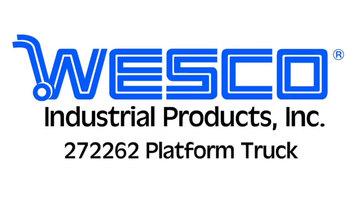 Wesco Industrial Products 272262 Telefolding Platform Truck